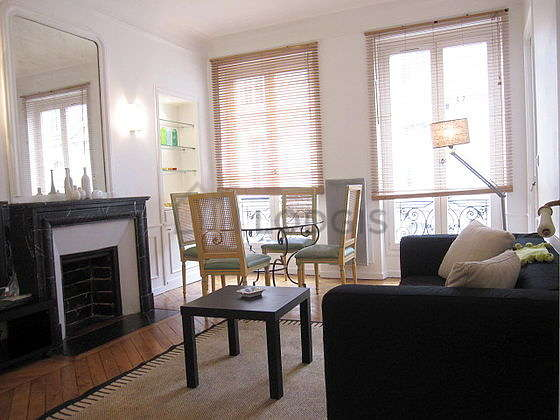 Living room furnished with tv, 4 chair(s)