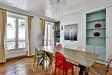 Apartamento Paris 4° - Sala de jantar