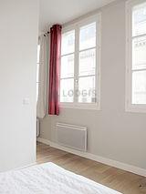 アパルトマン パリ 1区 - ベッドルーム
