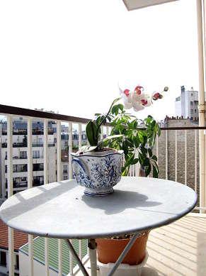 Balcony with concretefloor