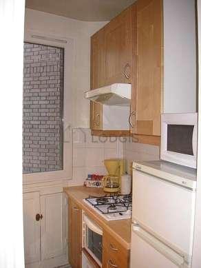 Beautiful kitchen of 3m² with tilefloor