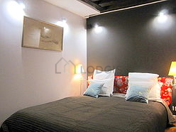 双层公寓 巴黎3区 - 卧室