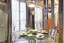 双层公寓 巴黎3区 - 厨房