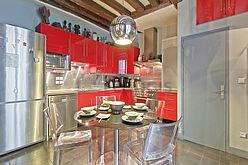 Duplex Paris 3° - Kitchen