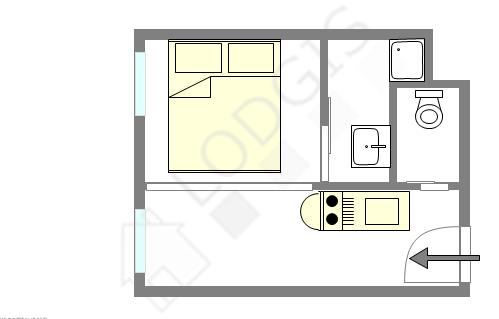 Appartement Paris 4° - Plan interactif