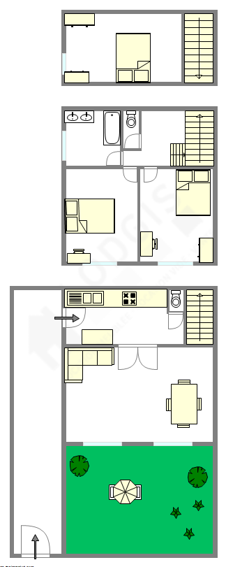 Casa Hauts de seine Sud - Plano interativo