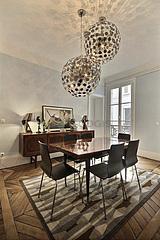 公寓 巴黎3区 - 飯廳