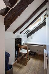 Apartment Paris 2° - Study