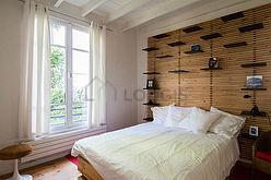 tríplex París 15° - Dormitorio