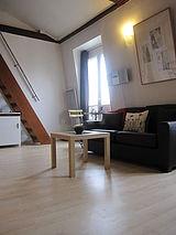 雙層公寓 巴黎4区 - 客廳