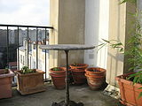Duplex Paris 4° - Terrace
