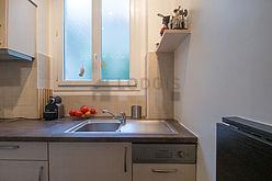 Квартира Париж 18° - Кухня