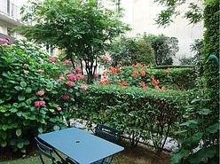 アパルトマン パリ 7区 - 庭