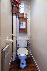 Wohnung Paris 19° - WC