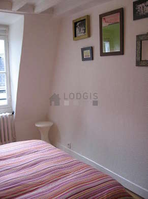 Very quiet bedroom for 2 persons equipped with 1 sofabed(s) of 160cm