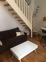 双层公寓 巴黎16区 - 客厅