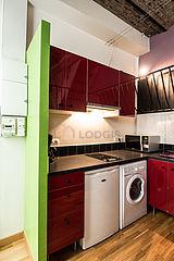 双层公寓 巴黎16区 - 厨房