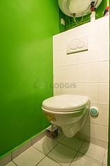 双层公寓 巴黎16区 - 厕所