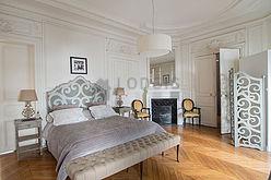 アパルトマン パリ 8区 - ベッドルーム